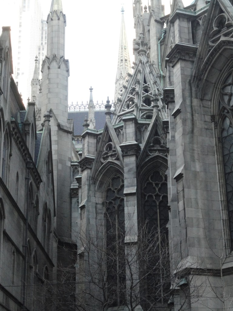 Saint Patrick's Cathedral in New York City, Gothic Architecture, Catholic Church, Manhattan, USA