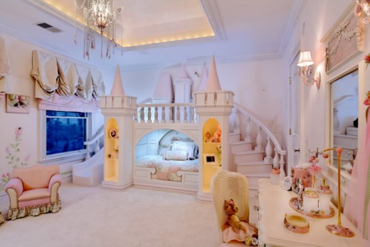 Castle Bed fit for a Princess