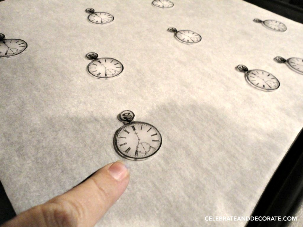 Shrinky dink Watches for invitations