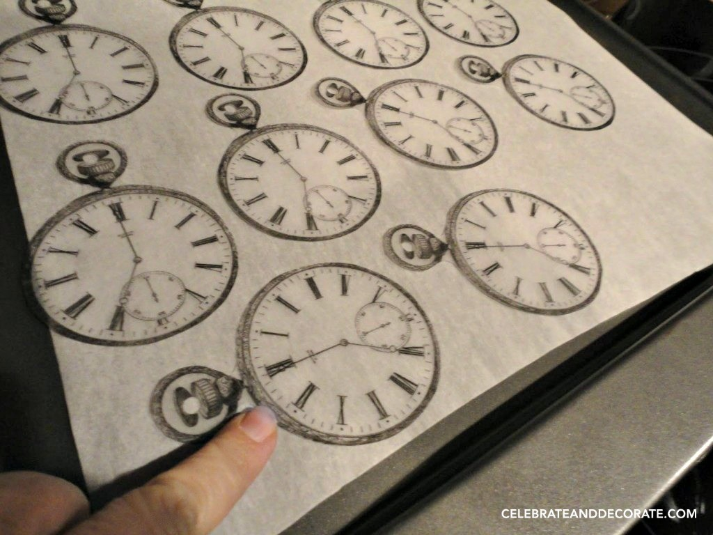 Shrinky dink watches