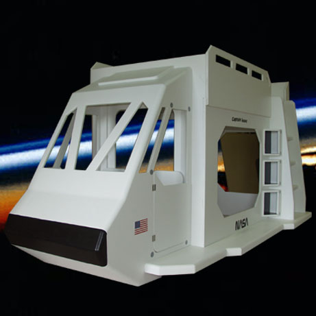 Space-shuttle-bed