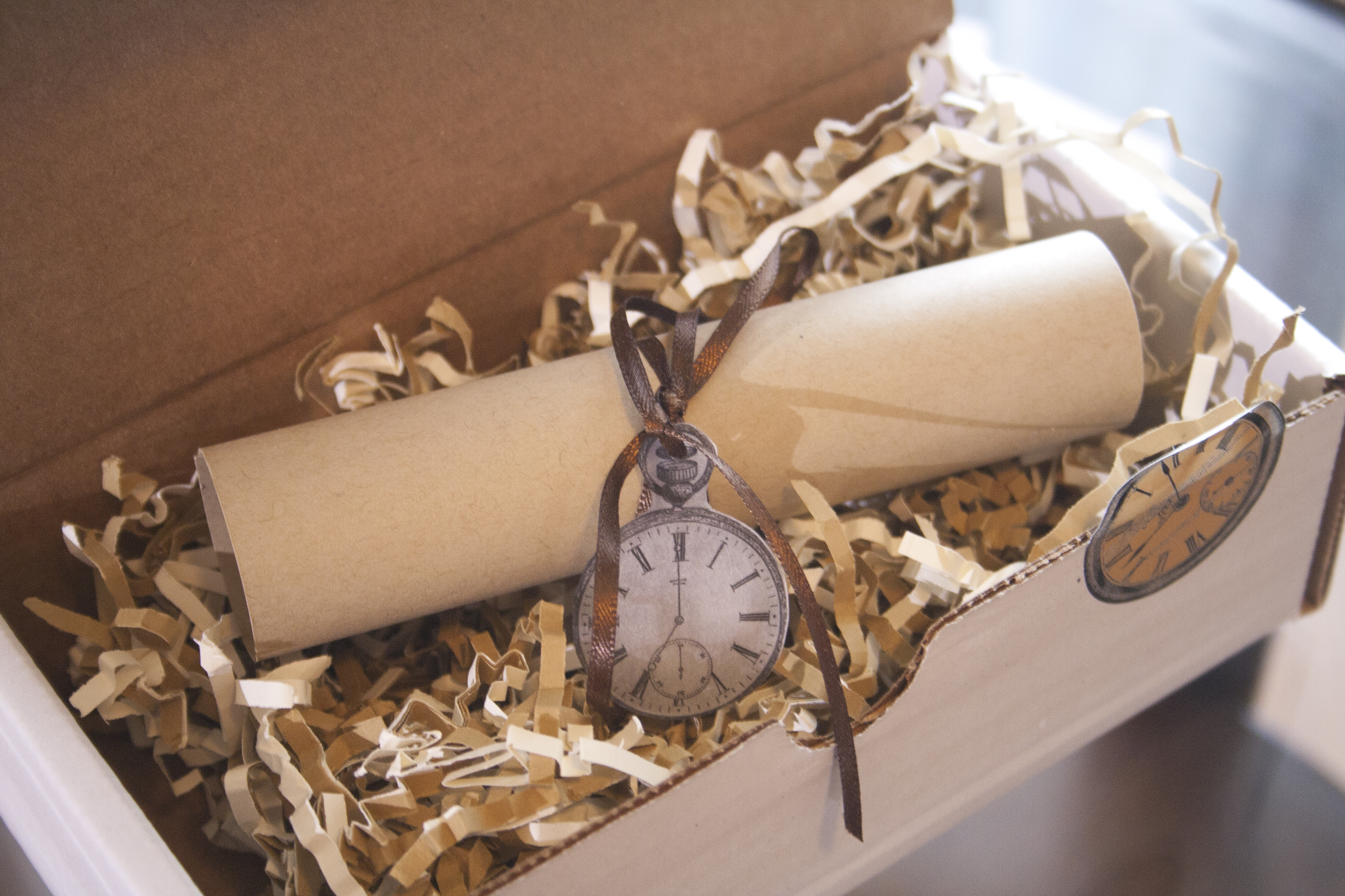Clock/Time Themed Party Invitation