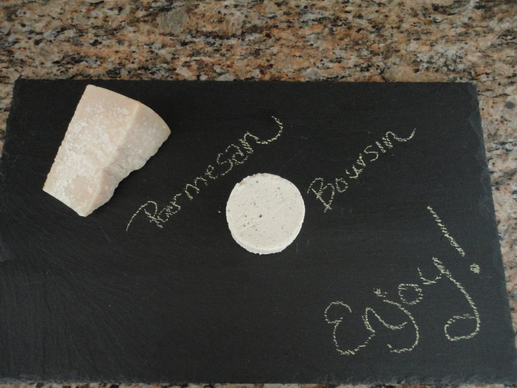 Slate cheeseboard, cheese tray, cheese board, parmesan, boursin, wine and cheese