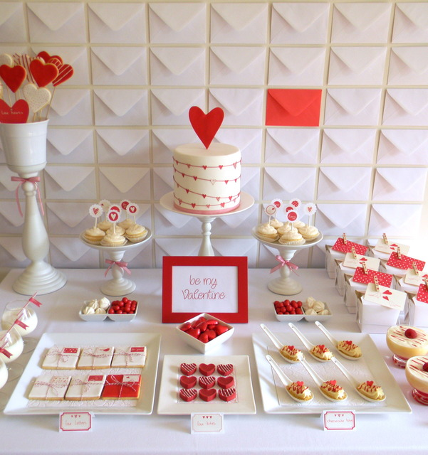 Valentine's day party, hearts and flowers, hearts and love, engagement party or bridal shower