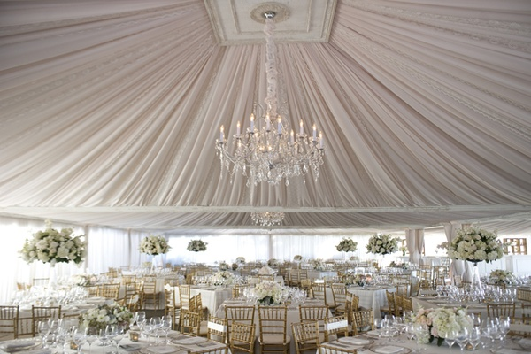 Wedding tent decor, party tent decor, decorating a tent for a wedding, chandelier, draping a tent