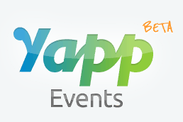 Yapp Logo: Create an app for your next event!