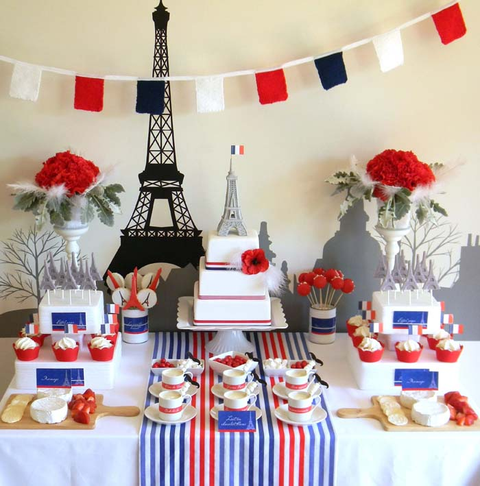 inspiration a paris party celebrate decorate