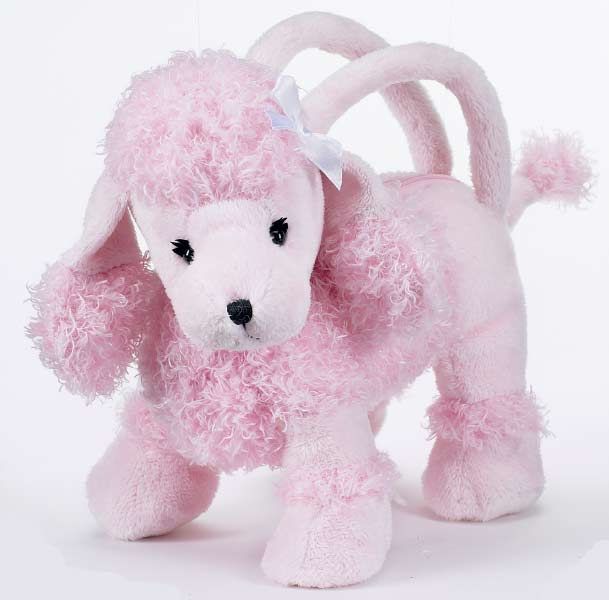 pink poodle stuffed animal, pink poodle party