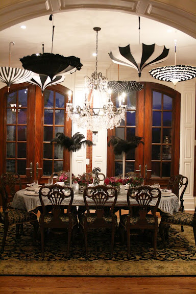 For This Party, A Girlu0027s Gourmet Dinner, Designed And Hosted By Darling  Darleen, The Decor Was Elegant, But I Would Certainly Like To Use The  Parasols Too!