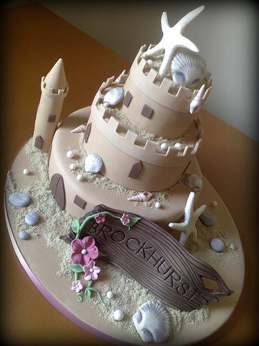 Cake Decorating Making Sand : Inspiration ~ Castle Cakes - Celebrate & Decorate