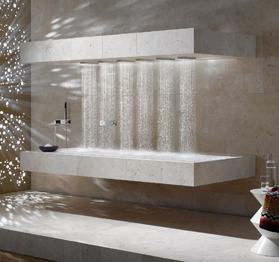 Contemporary Bathroom Showers chloe at home ~ the search for a shower style - celebrate & decorate