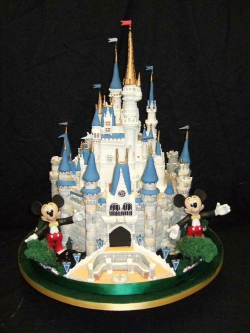 Walt Disney World Castle Cake for the biggest Disney Fan!
