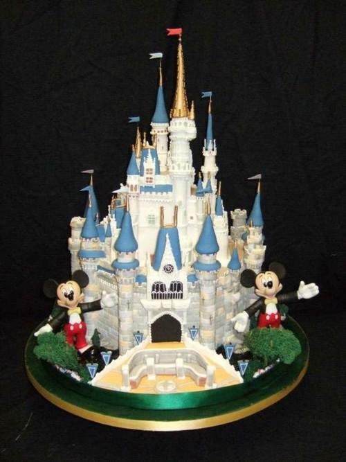 Surprising Walt Disney World Castle Cake Yes It Is A Cake Celebrate Funny Birthday Cards Online Bapapcheapnameinfo