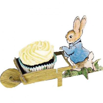 Peter Rabbit cupcake holders