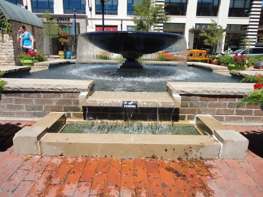 water fountain in my neighborhood
