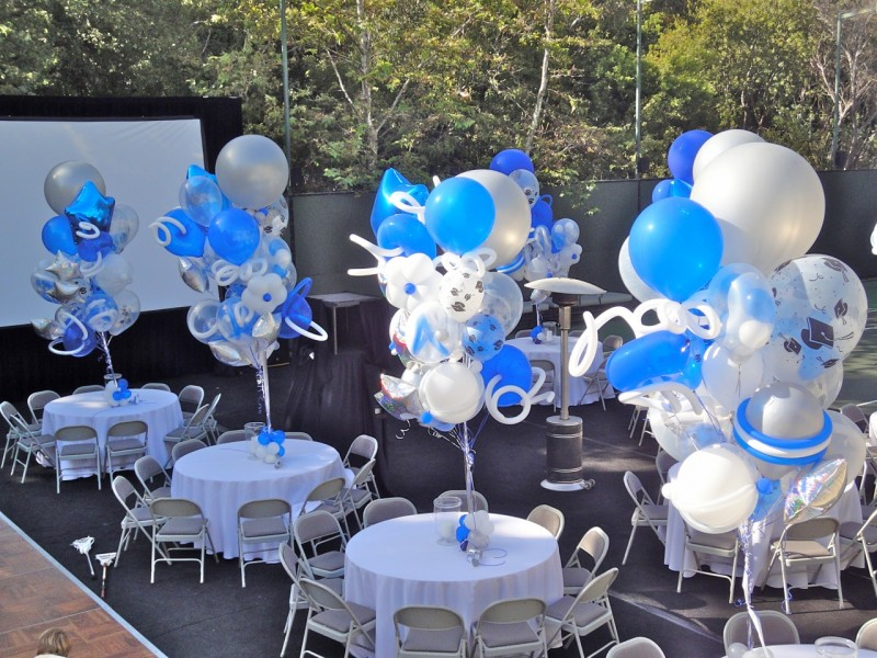 Go Back > Gallery For > Graduation Party Balloon Centerpieces