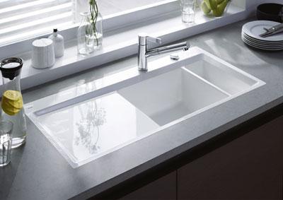 Duravit modern kitchen sink