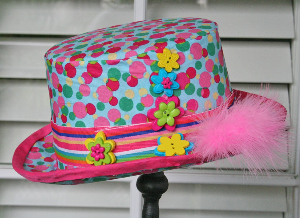 Create Your Own Fabric Top Hot - Top Hat Tutorial