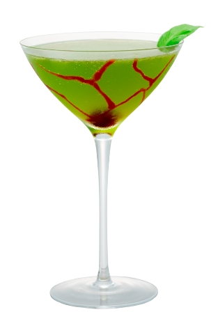 Midori-Eye-Tini and other Halloween Cocktail recipes
