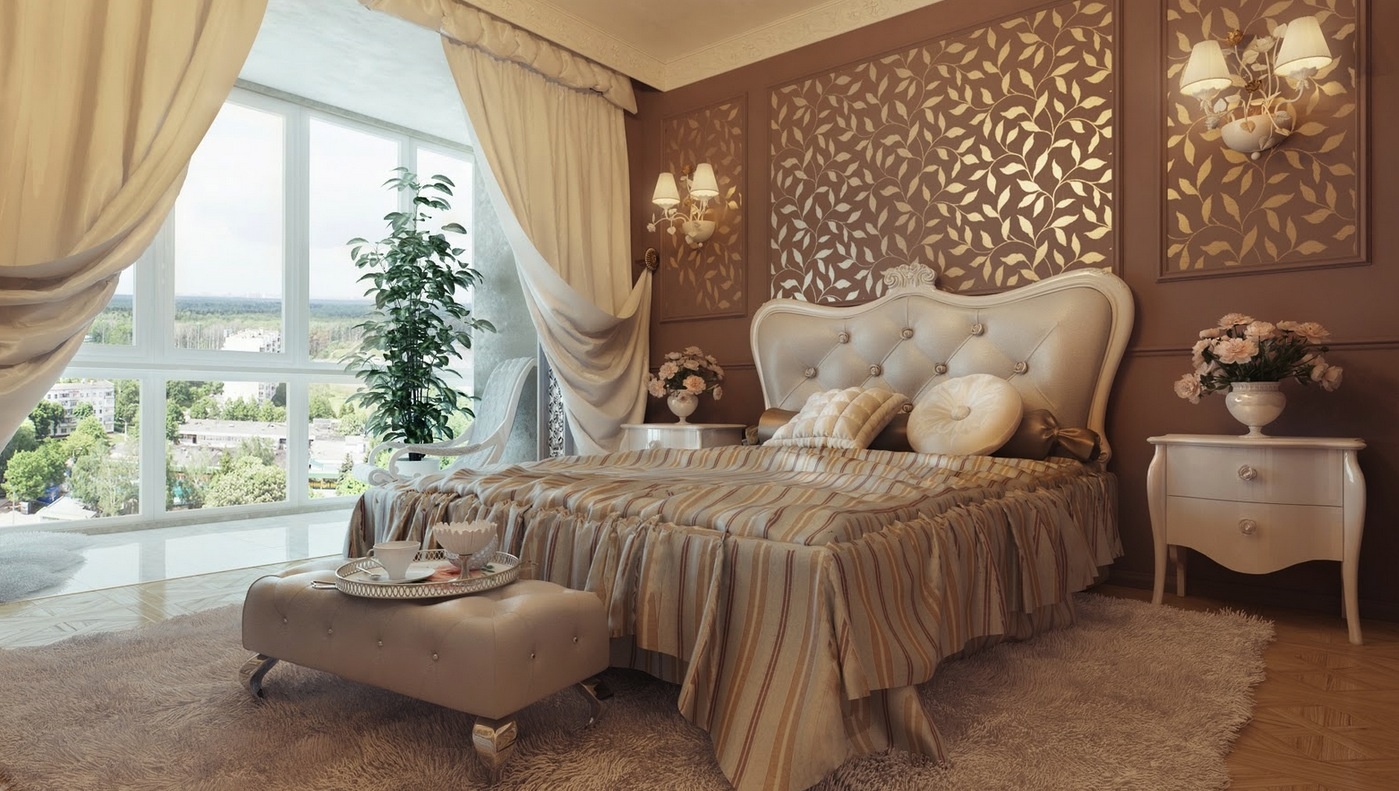 Traditional Bedroom Design Neutral Lovely Bedrooms Elegant