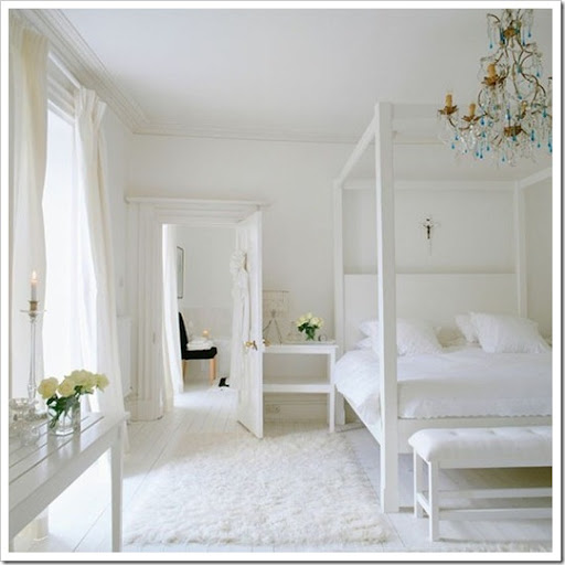 All White Room chloe at home ~ inspiring all white rooms - celebrate & decorate