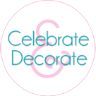 Celebrate and Decorate Button