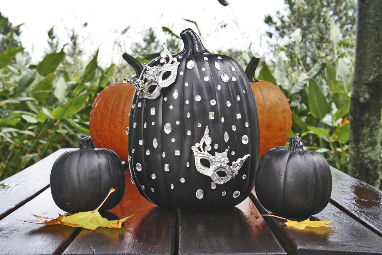 Masquerade Pumpkin for Halloween