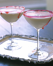 Pina Ghoulada or pina colada halloween cocktail