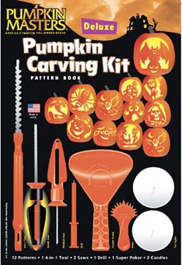 Pumpkin carving kit to create your own intricate Jack O'Lantern