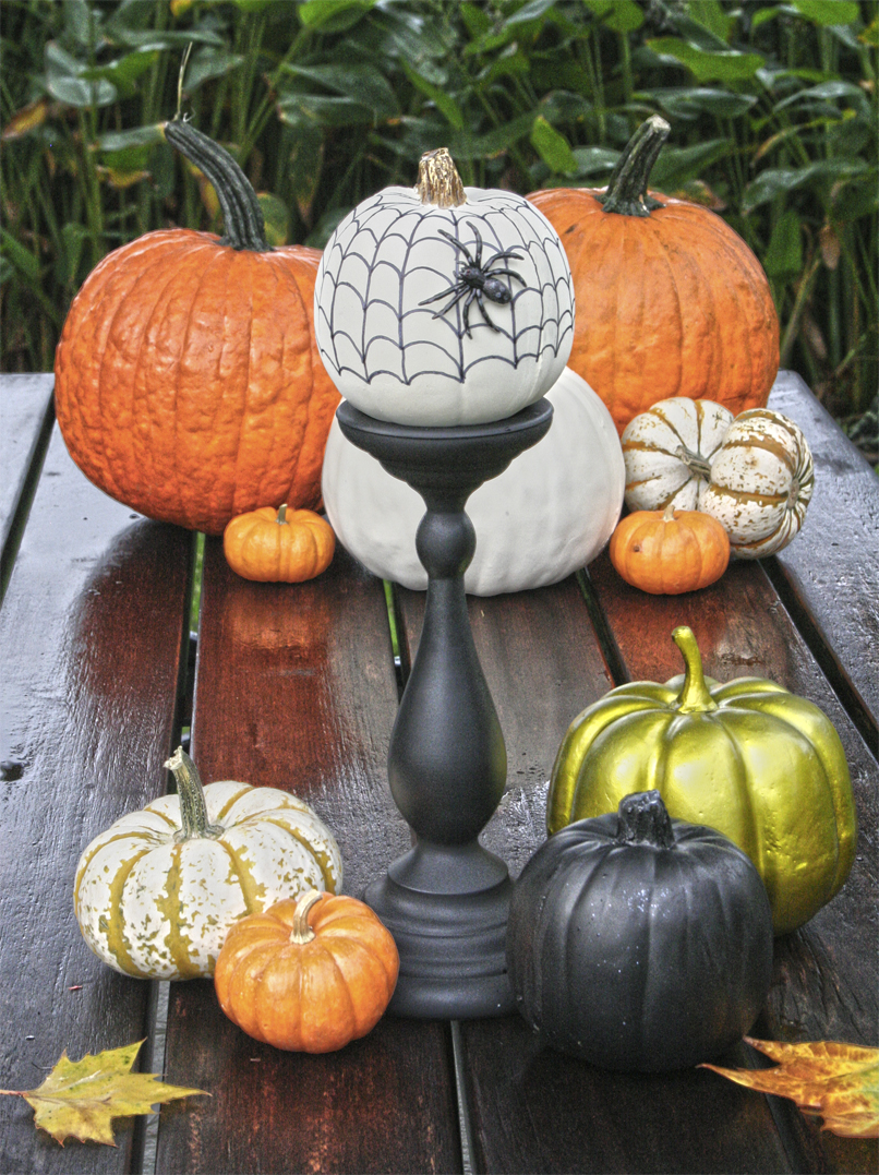 Chloe 39 s crafts no carve pumpkins for halloween ii - Idee deco citrouille halloween ...
