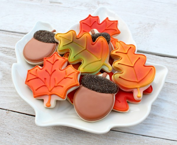 Fall or Thanksgiving Cookies