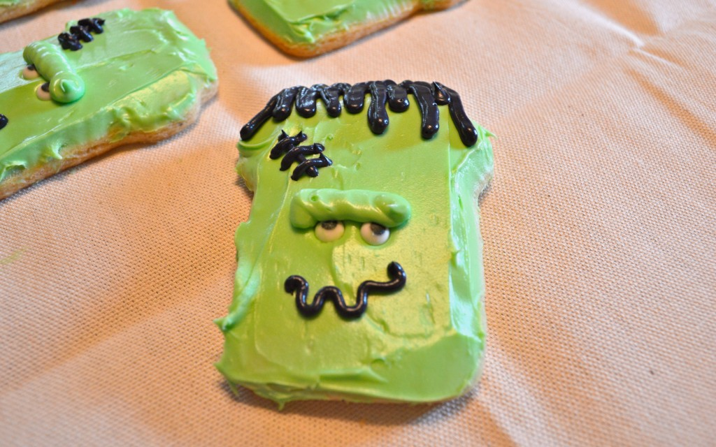 Frankenstein Decorated cookie