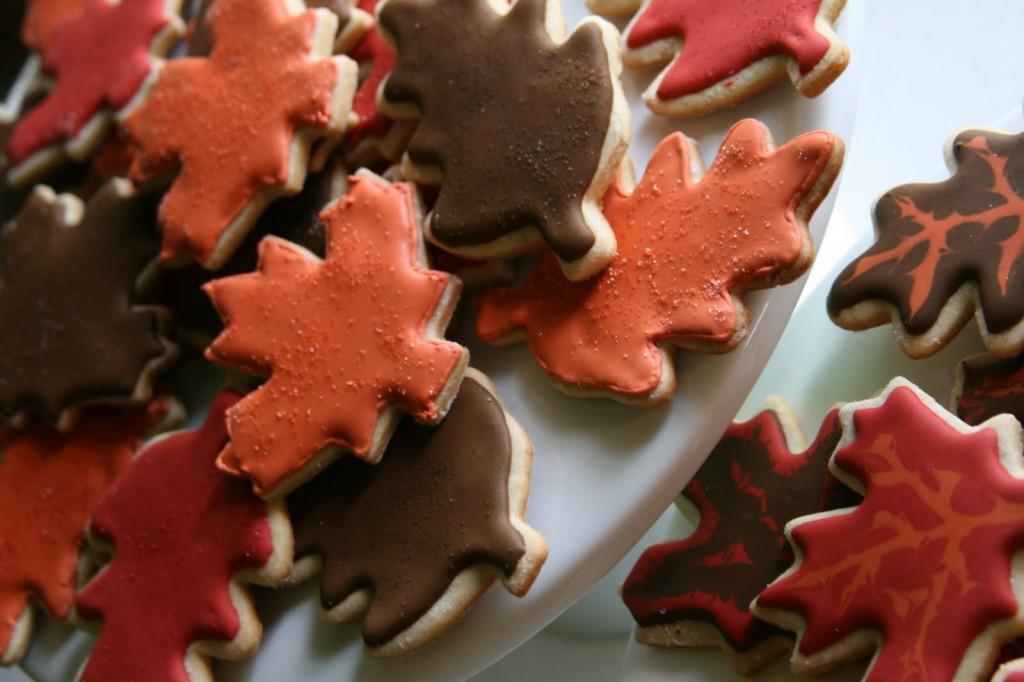 Autumn Leaf Cookies,