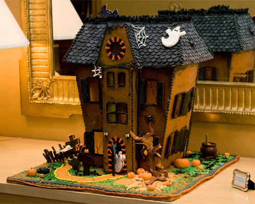 Chloe S Inspiration Gingerbread Halloween Houses