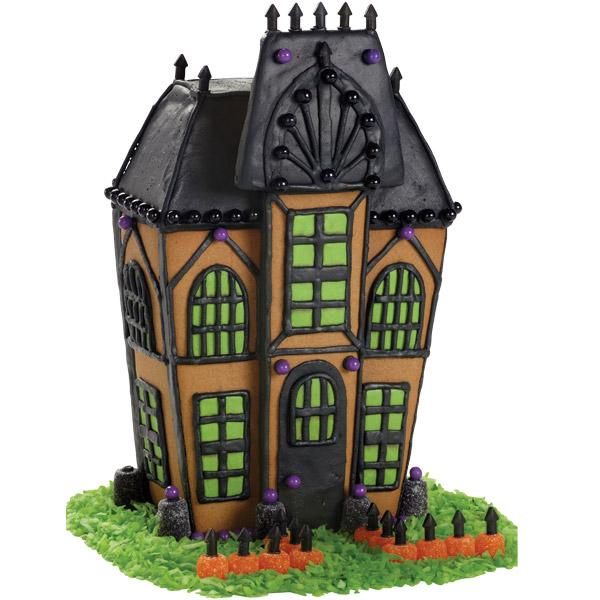 Gingerbread Halloween Houses