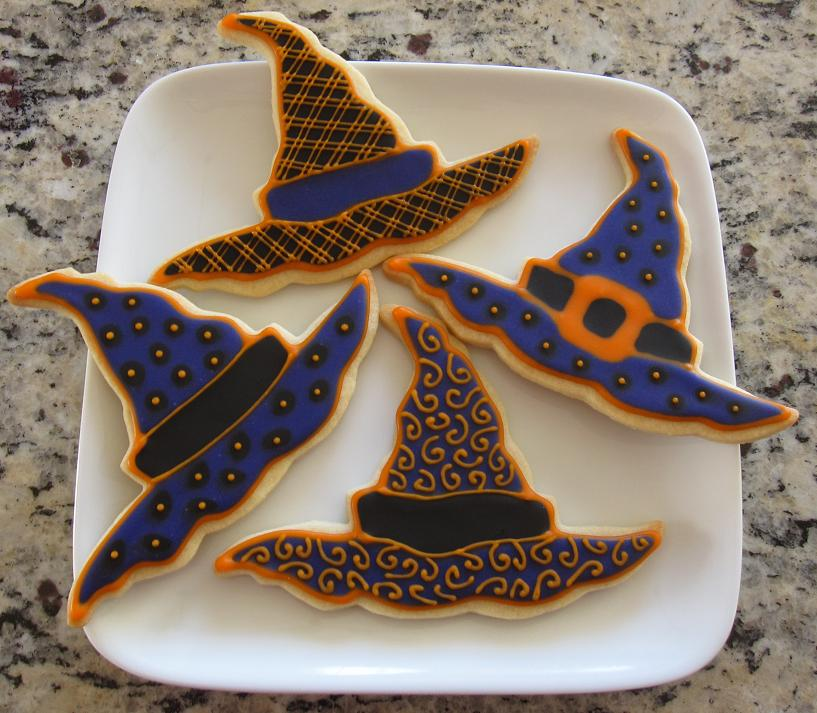 Halloween Decorations Witches Hat Witch Hat Halloween Cookies