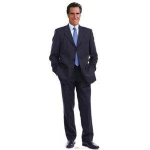 Life size Romney cut out