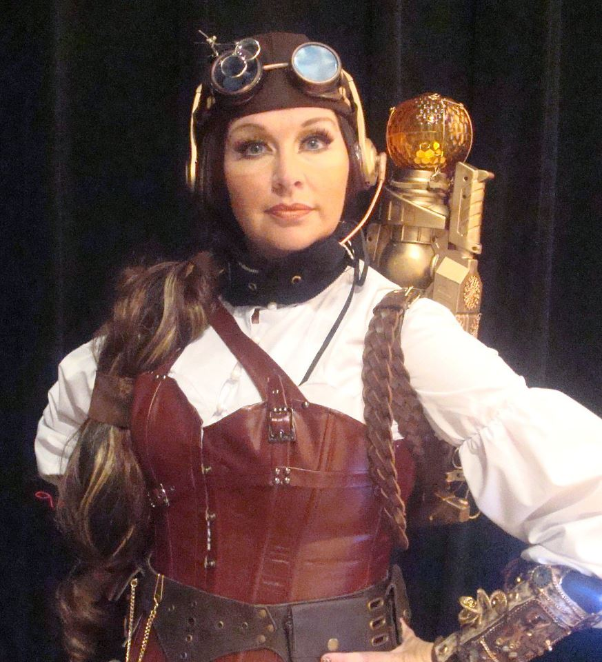 Steampunk fashion clothing
