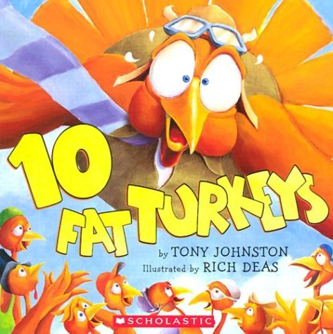 10 Fat Turkeys Book for Thanksgiving