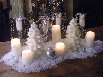 Chloe's Inspiration ~ Simple Christmas Centerpieces | Celebrate ...