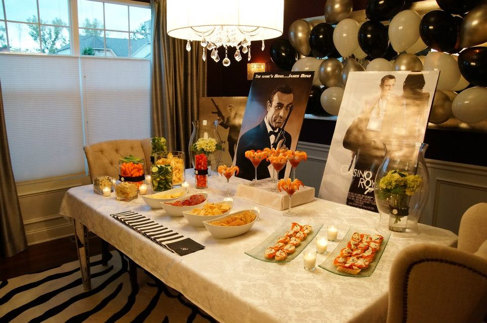 A james bond party celebrate decorate for 007 decoration ideas