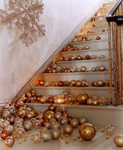 Christmas staircase