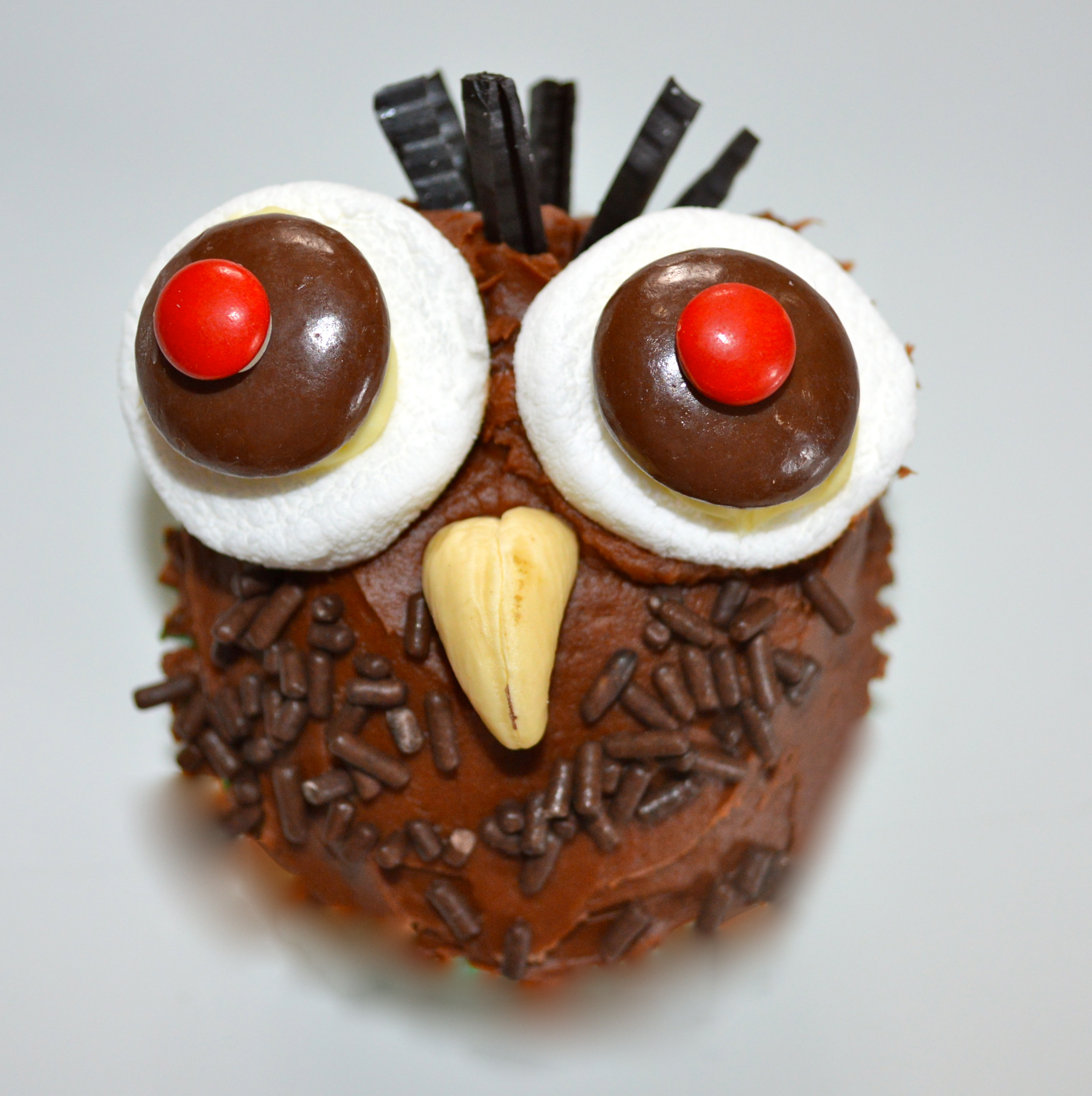 Five Days of Cute and Easy Cupcakes Day Two Owls Celebrate