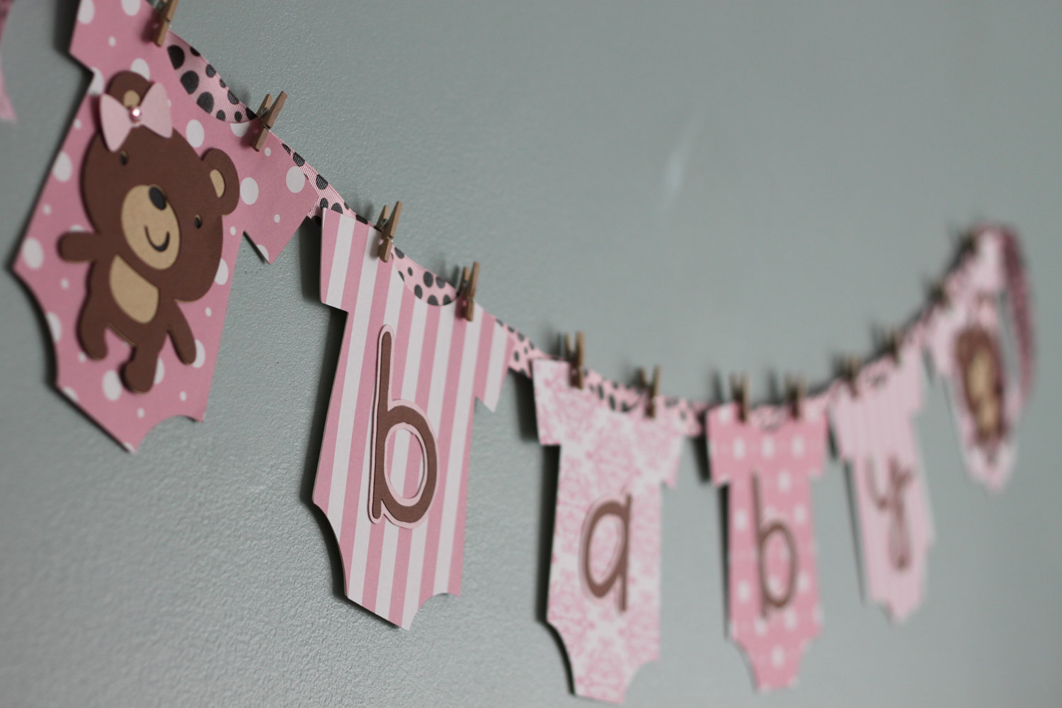 Teddy Bear Baby Shower Banner Celebrate Decorate