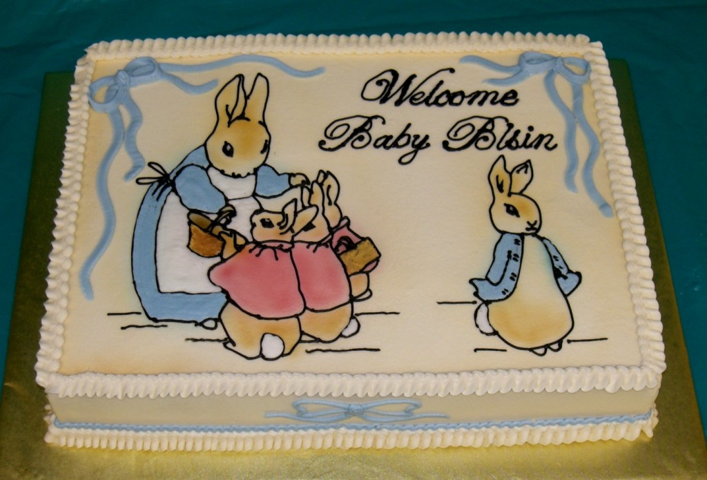 inspiration a peter rabbit baby shower celebrate decorate