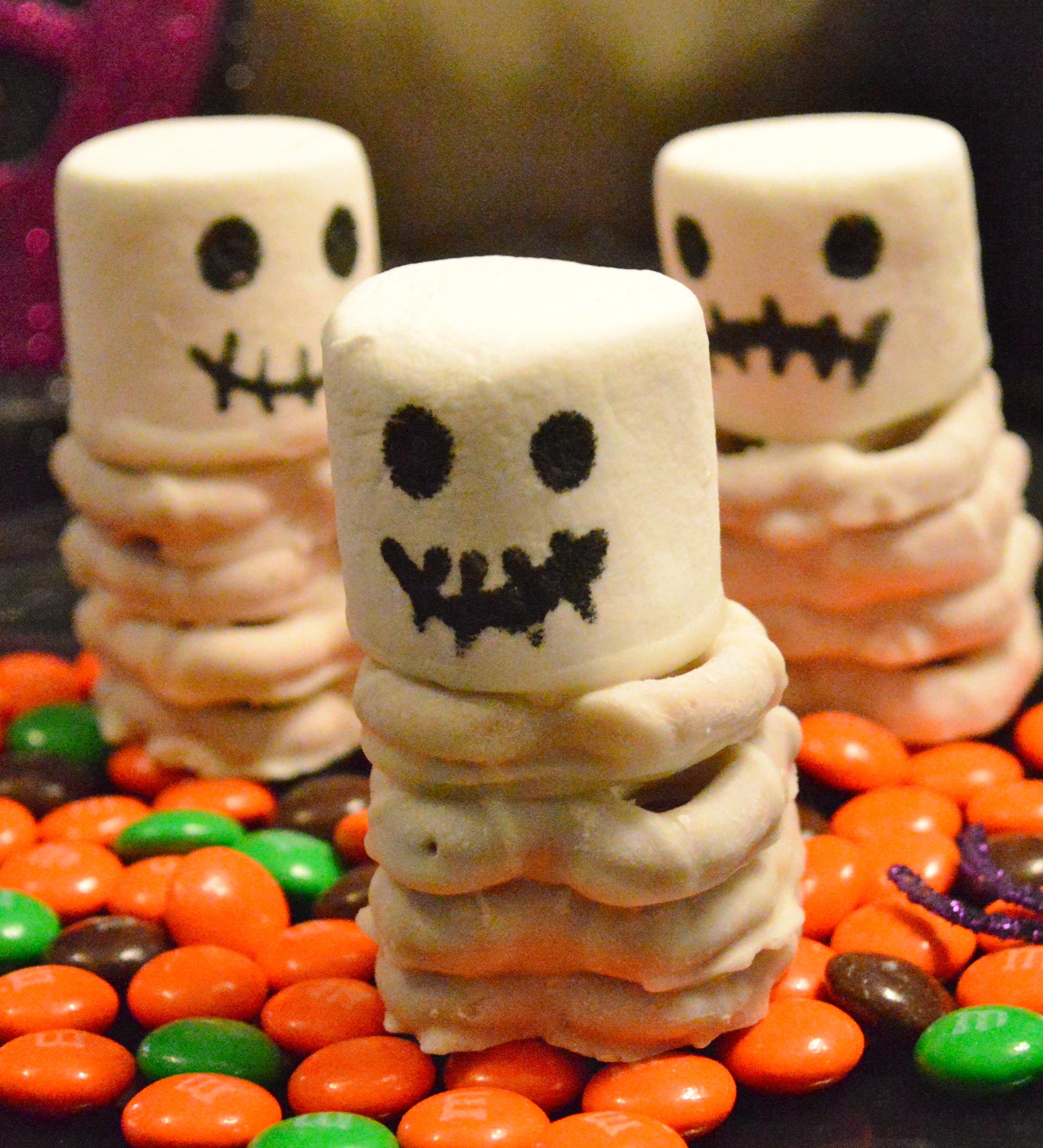 Skeleton Halloween Treats