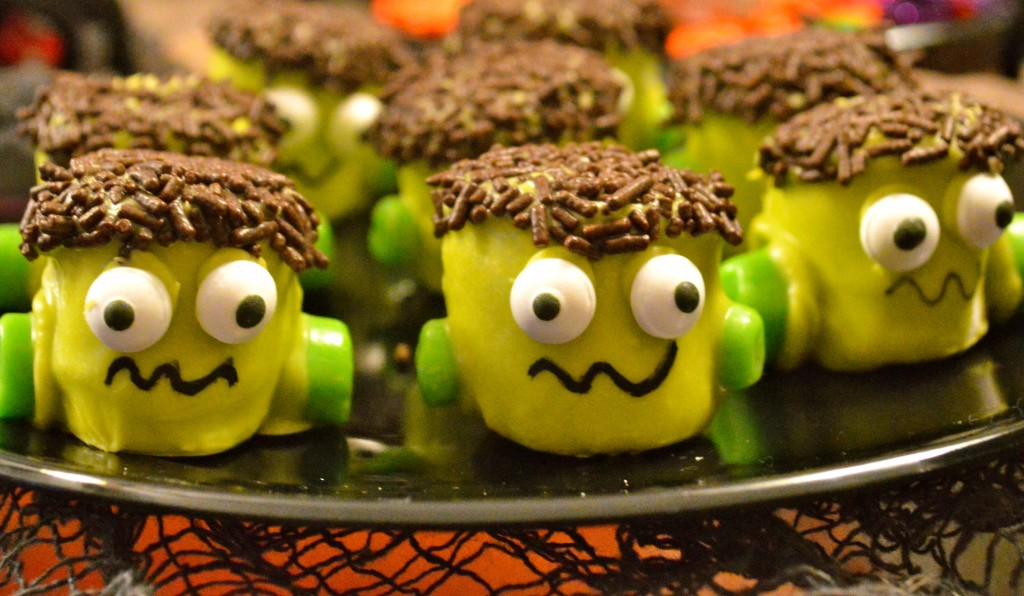 Frankenstein Halloween Treats