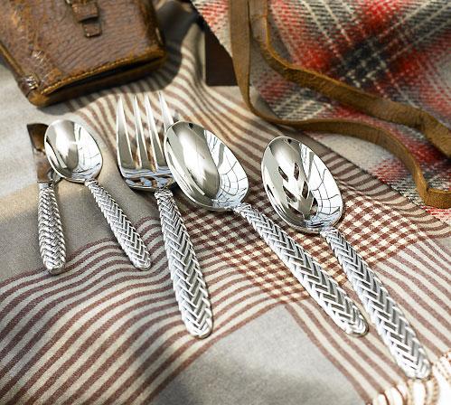 Ralph Lauren Equestrian Braid Flatware