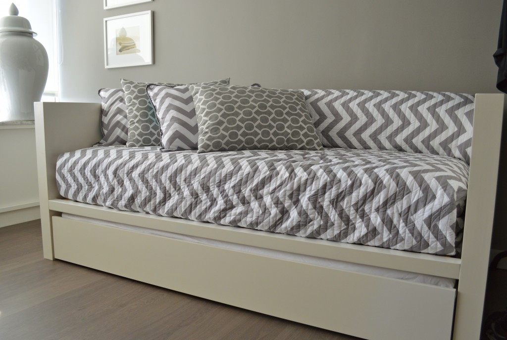 White modern daybed