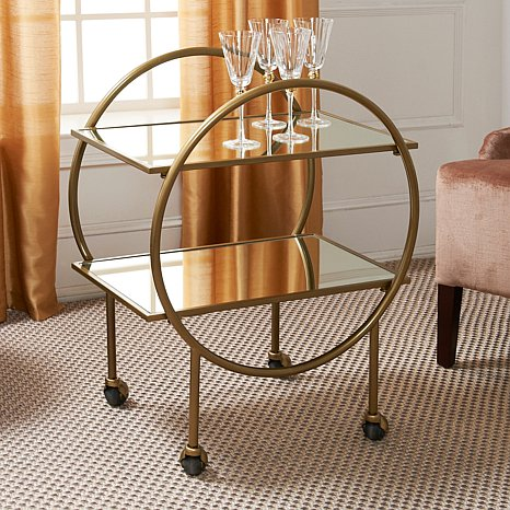 Colin Cowie bar cart